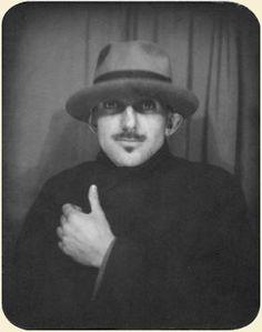 Ansel Adams Self Portrait.