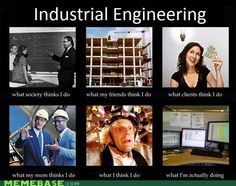How Industrial Engineers Are Seen - Pretty much