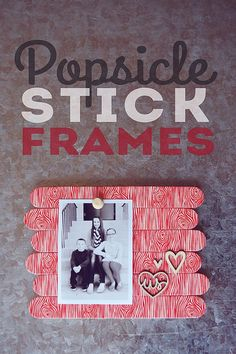 Stick Photo Frame