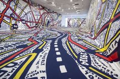 "Working with students at the Tyler School of Art, Paula Scher has created ""Philadelphia Explained,"" an installation at Temple Contemporary."