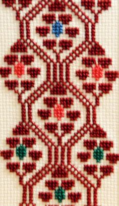 Olia Bseiso - Stained Glass, Wood Burning, and Embroidery Wool Embroidery, Hardanger Embroidery, Hand Embroidery Stitches, Ribbon Embroidery, Cross Stitch Embroidery, Simple Cross Stitch, Cross Stitch Borders, Cross Stitch Designs, Cross Stitching