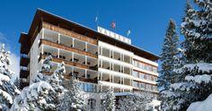 Aussenansicht – Hotel Graubünden – Ferien Hotel Arosa - Sporthotel Valsana