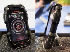 Casio G-Shock phone running Android, good gadget for rough environments