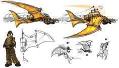 steampunk glider - Google Search