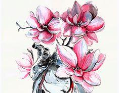 "Check out new work on my @Behance portfolio: ""heartflower"" http://be.net/gallery/63261741/heartflower"