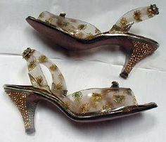 50´s lucite shoes
