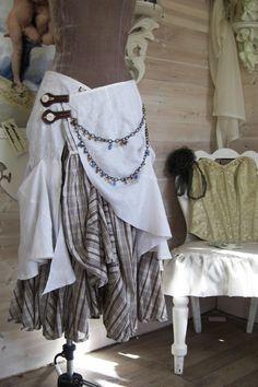 white bonzie skirt