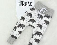 Koda, fratello orso vestito/organici cotone Pareggiatore pantaloni