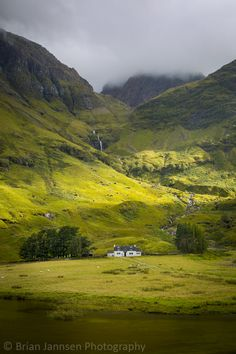 Glencoe Highlands, Scotland. © Brian Jannsen Photography