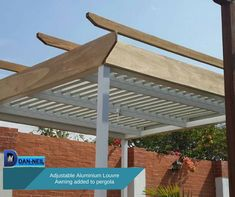 At last a pergola that gives architectural interest and function