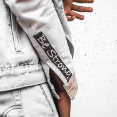 Denim Jackets, Sweatpants, Fashion, Moda, Sweat Pants, Fasion, Jumpsuits, Fashion Illustrations, Jean Jackets