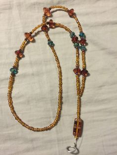 A personal favorite from my Etsy shop https://www.etsy.com/listing/233357672/fun-brown-lanyard