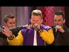 """The Sing-Off: Movie Night: AcoUstiKats Vs. VoicePlay: Eye of the Tiger -- Vocal Rush and Ten shoot for glory during an Ultimate Sing-Off to Irene Cara's """"Fame."""" -- http://wtch.it/rAl41"""