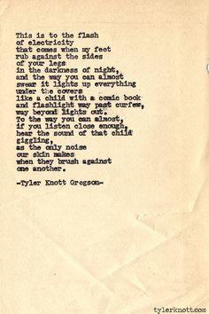 Typewriter Series #530by Tyler Knott Gregson