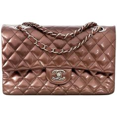 7f20e63ebad0aa Chanel Rose Fonce Quilted Striated Patent 10