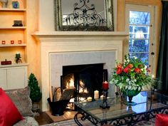 How to Tile a Fireplace --> http://www.hgtv.com/design/decorating/design-101/how-to-tile-a-fireplace?soc=pinterest