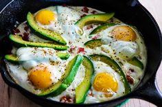 Baked Eggs Skillet w
