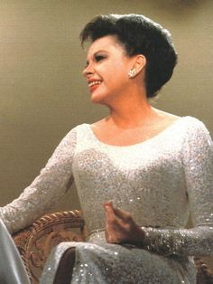 The Judy Garland Show, she looks great in that beautiful gown,