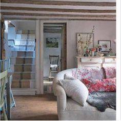 Haus Wohnzimmer Einrichtung Englisch Htte Dekoration Ferienhaus Innenrume Land Interieurs Gemtlichen Wohn