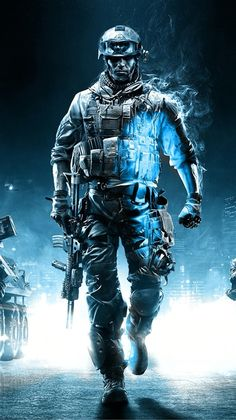 Call Of Duty Ghosts Soldier iPhone 6 Plus HD Wallpaper - 4k Wallpaper For Mobile, Iphone 5 Wallpaper, Original Iphone Wallpaper, Wallpaper Art, Desktop Backgrounds, Arte Assassins Creed, Indian Army Special Forces, Police