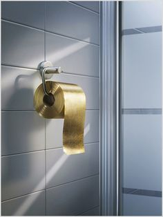 What? You don't have gold toilet paper?