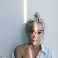 Don't look now, Kourtney! At just 18 years of age Lindsay Vrckovnik electrified the intern...