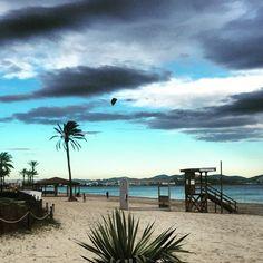 Playa D'en Bossa Ibiza in Winter
