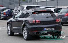 Lộ diện thêm hình ảnh Porsche Macan 2019 trên đường thử nghiệm
