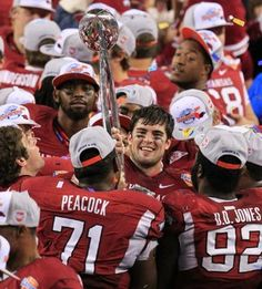 Arkansas Razorbacks  2012 Cotton Bowl Champs