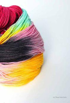 """""""Ainsley"""" colorway from Three Irish Girls yarn."""