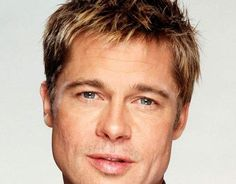 Brad Pitt Hairstyles Brad Pitt Troy, Fight Club Brad Pitt, Classic Hairstyles, Hairstyles Haircuts, Haircuts For Men, Cool Hairstyles, Brad Pitt Short Hair, Brad Pitt Fury Haircut, Pompadour Style
