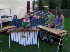 The Nightmares marimba band play Funky Thong Picnic Table, Instruments, Play, Band, Youtube, Design, Music, Gaming, Sash