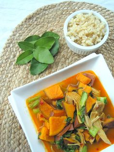 and Lima Beans: quinoa with moroccan winter squash and carrot stew ...