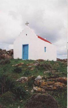 Chapel in Mykonos island, Cyclades, Greece (photo by Kyriakos Aivazoglou) Go Greek, Greek Life, Myconos, Mykonos Island, Throughout The World, Greek Islands, Cathedrals, Athens, Worship