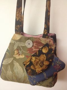 Homemade Purse by EmilysCraftsMaine on Etsy, $40.00