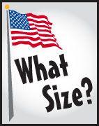 flag size ratio