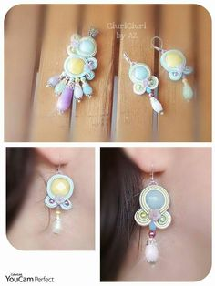 #soutacheaccesories #CiuriCiuribyAz #soutache #handmade #soutachejewelry #unici #earrings