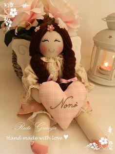 Ruth Farm Artisan ® ♥: Rag Dolls
