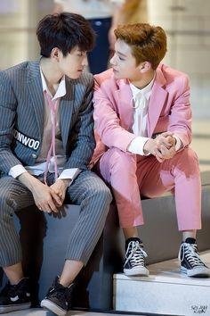 Wonwoo & Joshua (Seventeen) - STOP!!! THAT'S TOO CLOSE FOR COMFORT!!!