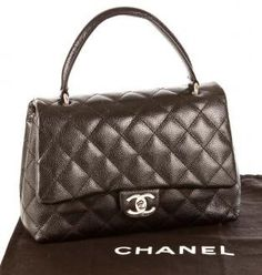 Authentic Chanel Black Caviar Kelly $2150