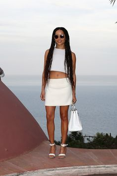 See the best dressed celebs from Dior Cruise 2016: Zoe Kravitz