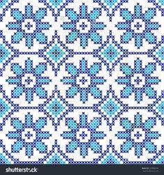 Embroidered Pattern On Transparent Background Stock Vector Illustratie 329888243 : Shutterstock
