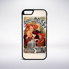 Alphonse Mucha - Beer Of The Meuse Phone Case – Muse Phone Cases