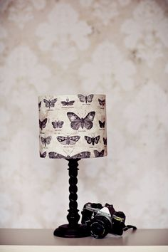 Lampshades, butterfly lamp shade, butterfly home decor, home office decor, table lamp, bifthday gift, animal lampshade, animal lover gift