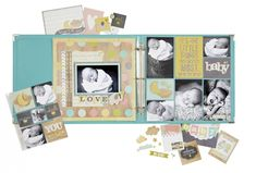 Oh so sweet and perfect for your new little one!  Hello Baby will help you welcome and remember all those tiny details and new beginnings.