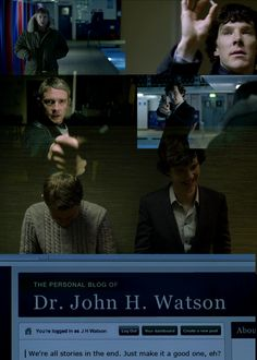 This makes me want to burst into hysteric sobbing, and clapping at the same time... Wholock feels