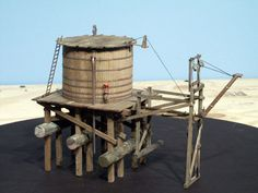 """Railroad Line Forums - The Gallery: Mar. """"Towers: Water, Coal & More"""" Ho Scale Train Layout, Ho Scale Trains, Model Train Layouts, Water Tank, Model Trains, Towers, Picture Photo, Tanks, Outdoors"""