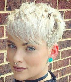 Cool Short hair styles : Photo