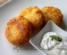 Croquetas de Zapallo (Calabaza) –Pumpkin's Croquets. Colombia, colombian food, recetas colombianas, colombian recipes, comida colombiana, cocina colombiana.