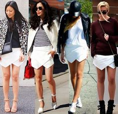 How to Chic: ASYMMETRICAL WRAP SHORTS